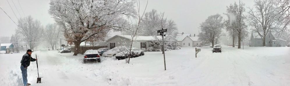 Big winter storm in 2013