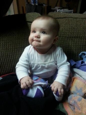 Chunky baby Chloe!