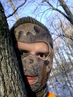 One of my first dear hunting trips... very cold!