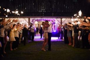 Planck wedding reception, such a blast!