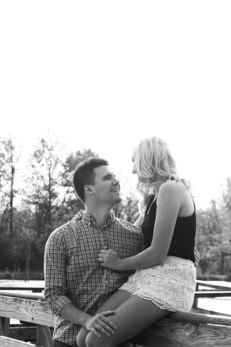 Our first engagement photos.