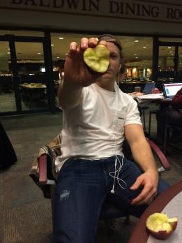 B.Rider. World famous rapper, and 1 finger apple smasher.