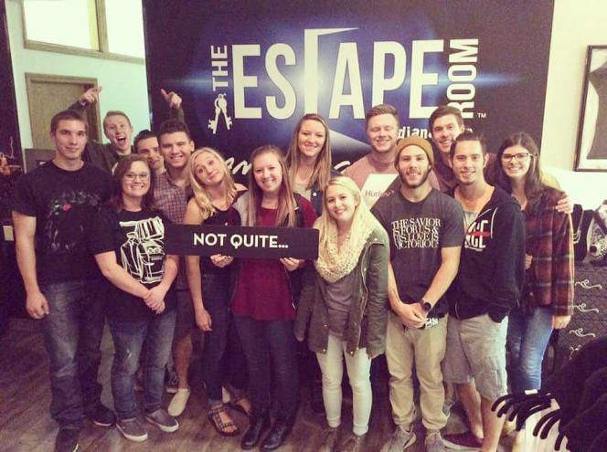 Escape room with the LHA young adults.