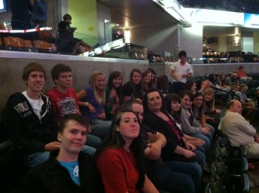 First Hillsong concert that Tanner couldn't go to because he didn't order his ticket